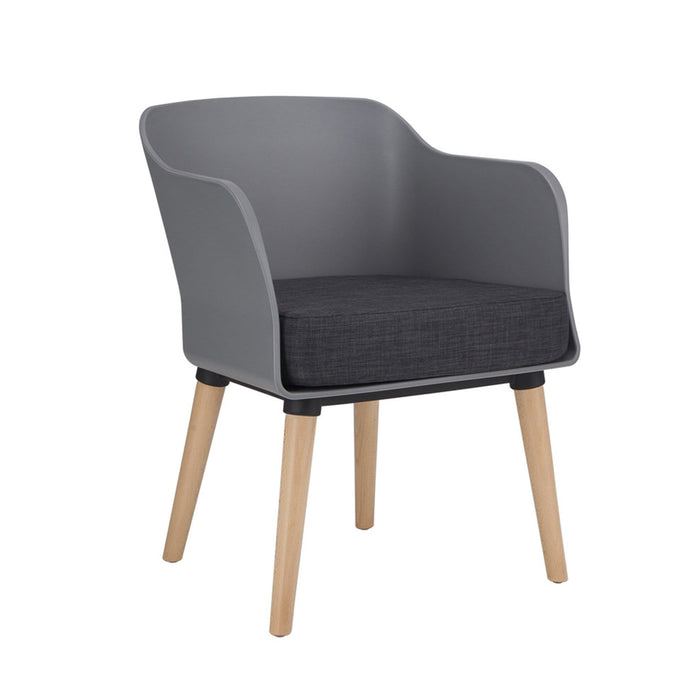 elevenpast Chairs Grey Dixie Armchair