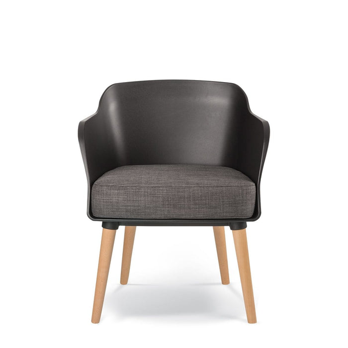 elevenpast Chairs Lobby Armchair Timber Legs