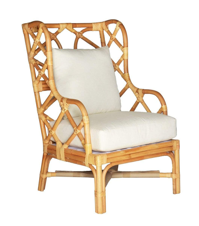 elevenpast Chairs Natural Naples wing Chair