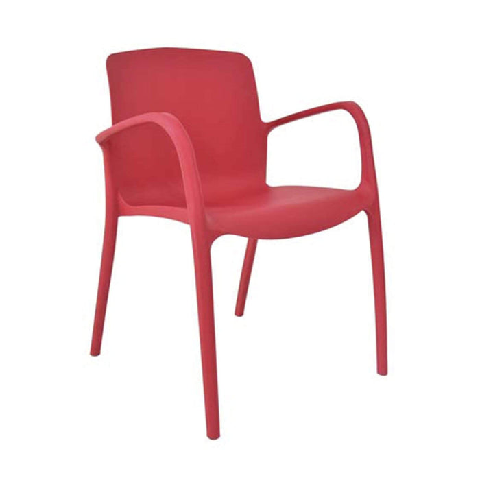 elevenpast Chairs Red Graceful Cafe Chair