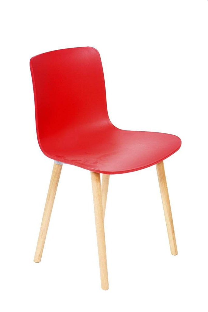 elevenpast Chairs Red Minimalistic Chair