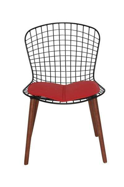 elevenpast Chairs Red Replica Bertoia Chair