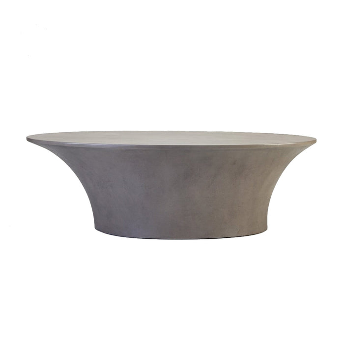 elevenpast Coffee tables Concrete Oval Coffee Table
