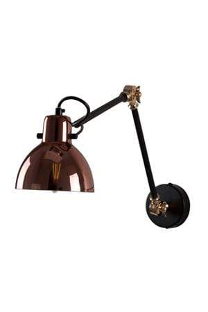 elevenpast Copper Glass Siena Wall Light