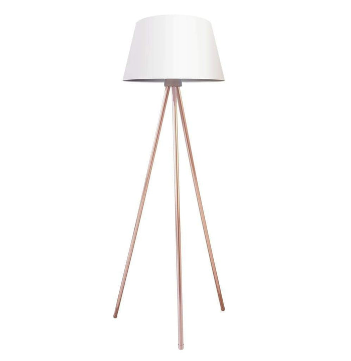 elevenpast Copper Slim Line Floor Lamp