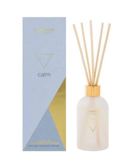 elevenpast diffuser Calm - Clary Sage | Cedar wood | Lavender Natural Stoneglow Diffuser