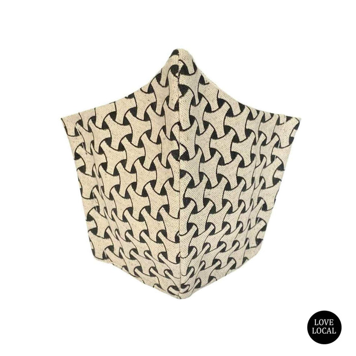 elevenpast Fabric Face Mask - Dogon Weave Natural