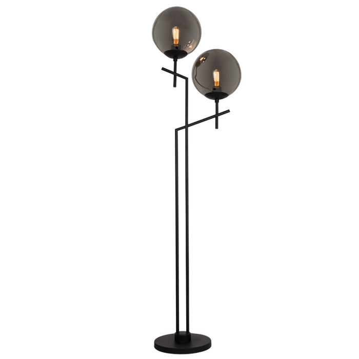 elevenpast Floor lamps Twin globe floor lamp