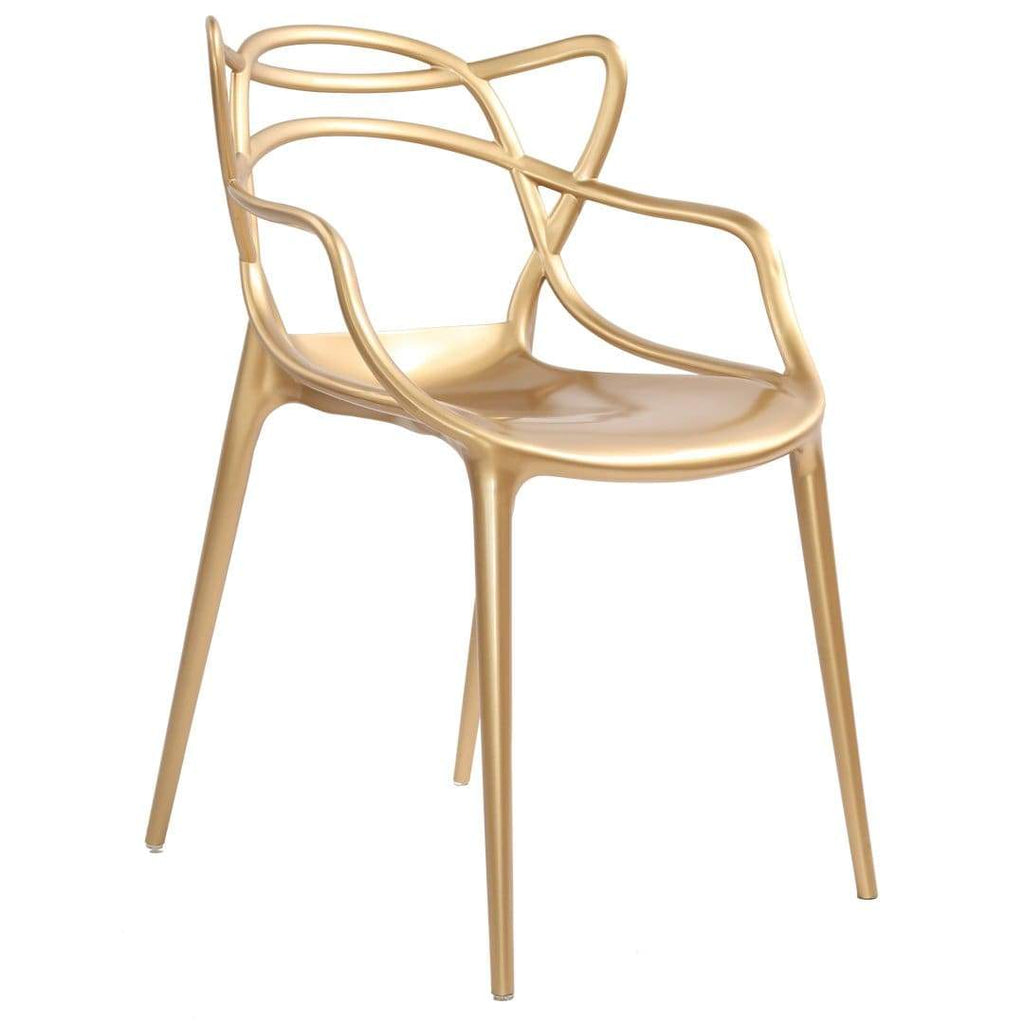 elevenpast Gold Metallic Replica Master Chairs