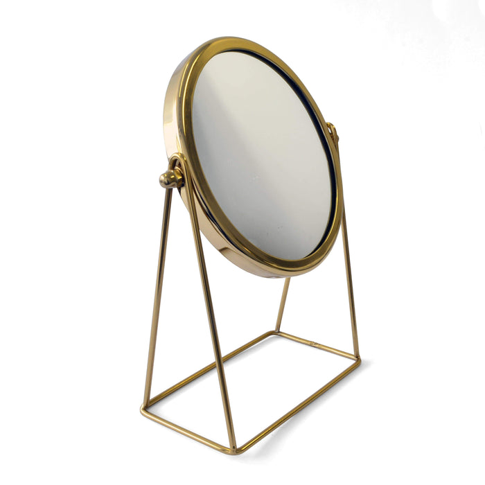 elevenpast Gold Table Mirror
