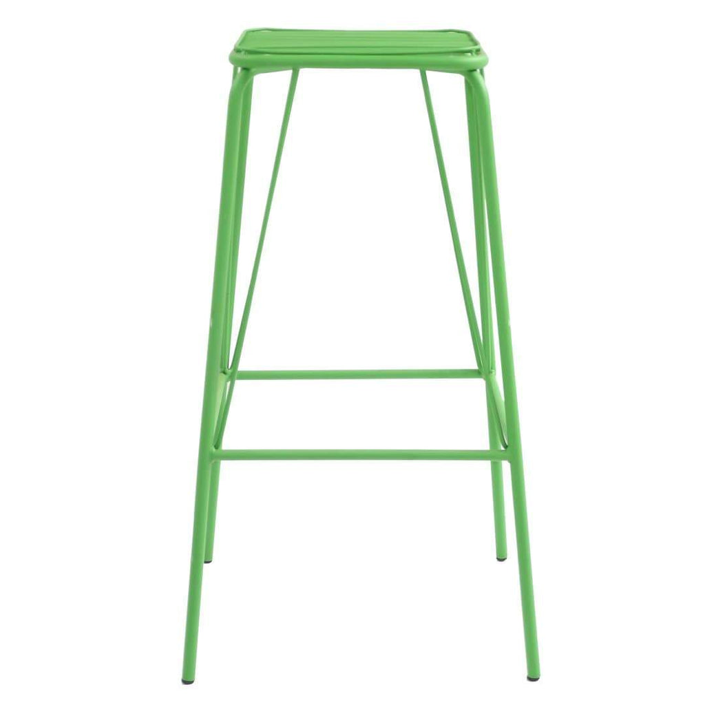 elevenpast Green Replica Wire Barstool