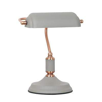 elevenpast Grey Copper Emmero Table Lamp