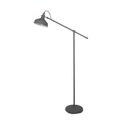 elevenpast Grey Copper Luca Floor Lamp