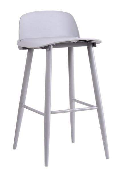 elevenpast Grey Replica Nerd Bar Stool