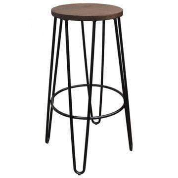elevenpast Hairpin Kitchen Stool