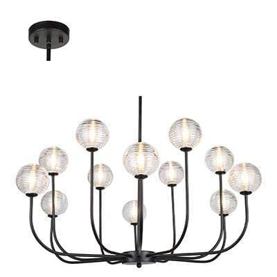 elevenpast lighting Pablo 12 Light Chandelier
