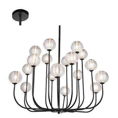 elevenpast lighting Pablo 18 Light Chandelier