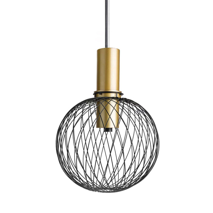 elevenpast lighting Wire Orb Pendant