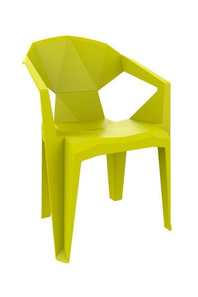 elevenpast Lime Green Delta Armchair