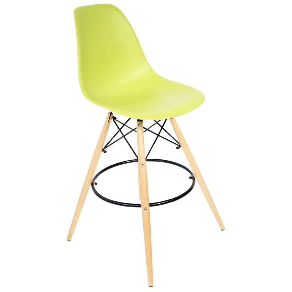 elevenpast Lime Replica Eames Bar Stool