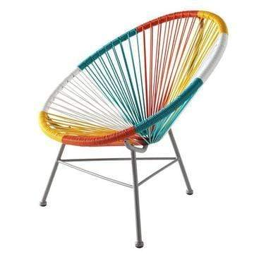 elevenpast Multi-Colour Replica Acapulco Kids Chair