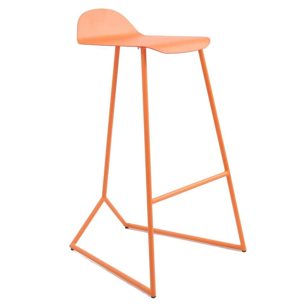 elevenpast Orange Mantis Barstool