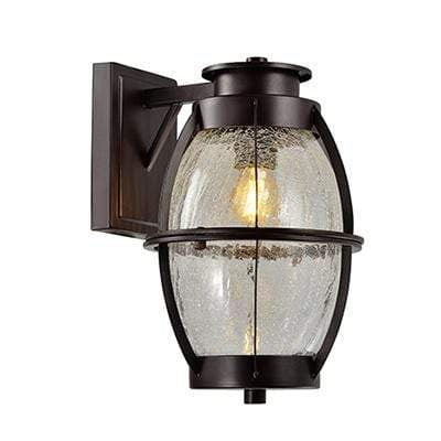 elevenpast Outdoor Oval Glass Wall Light