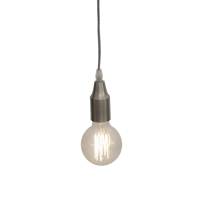 elevenpast Pendant Easy Pendant Brushed Silver
