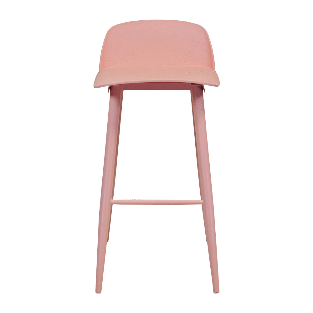elevenpast Pink Replica Nerd Bar Stool