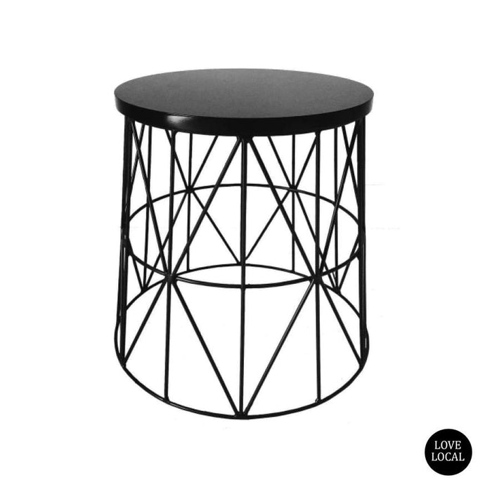 elevenpast Pythag Side Table Black