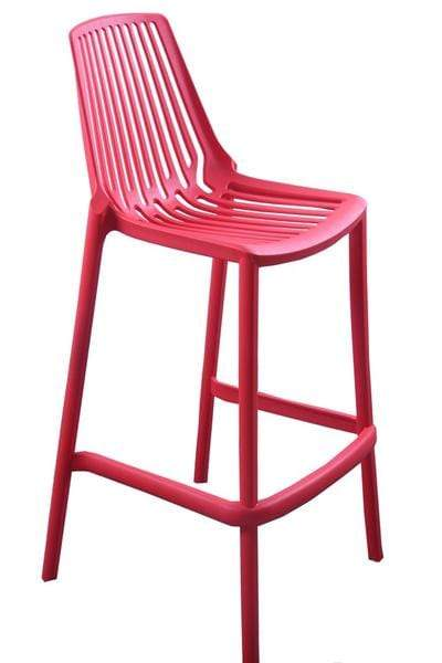 elevenpast Red Replica Kitchen Stool