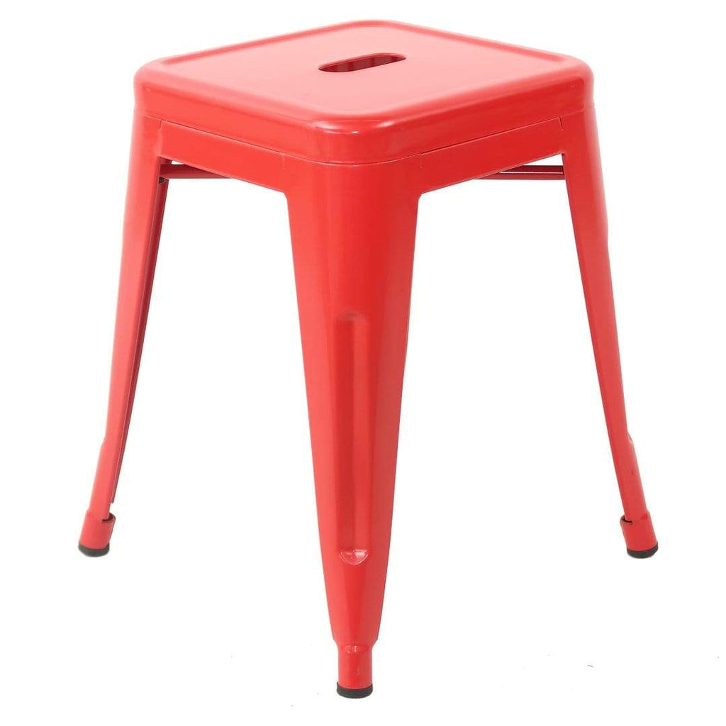 elevenpast Red Replica Tolix Stool