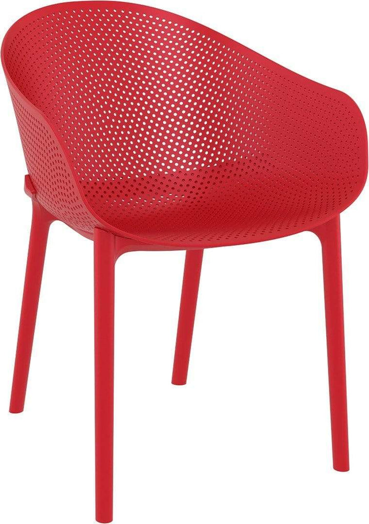 elevenpast Red Sky Armchair