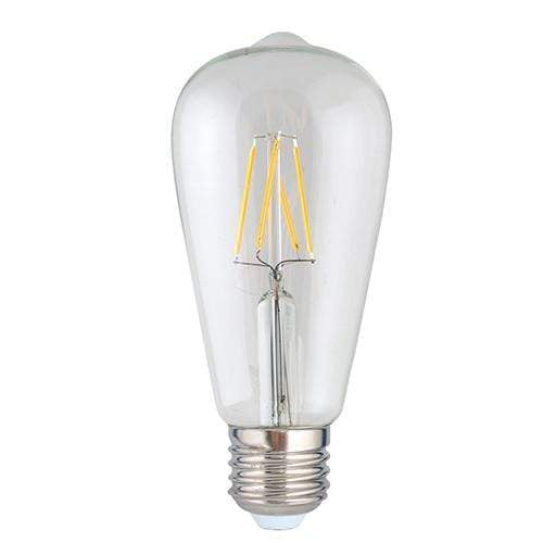 elevenpast Retro Tear Drop LED Filament Globe