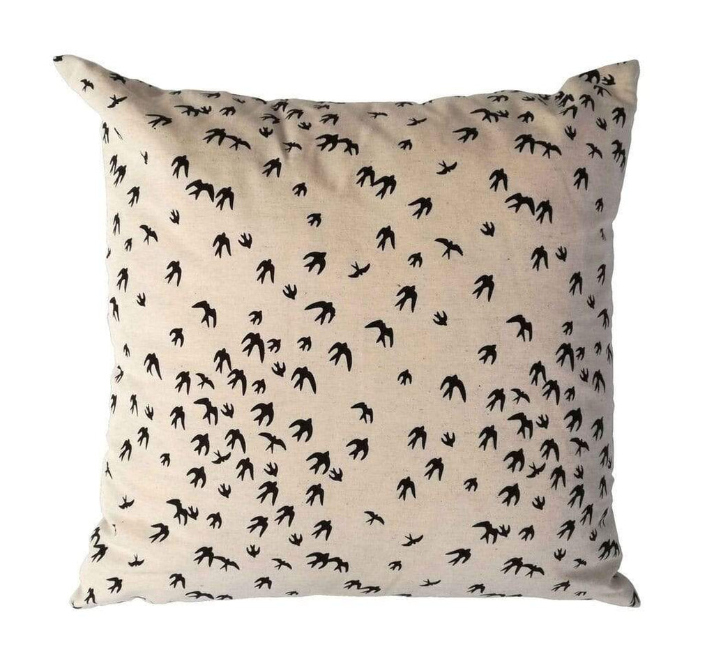 elevenpast Scatter Cushions Black Flock of Birds Scatter Cushion