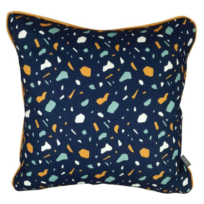 elevenpast Scatter Cushions Blue Terrazzo Cushion Cover
