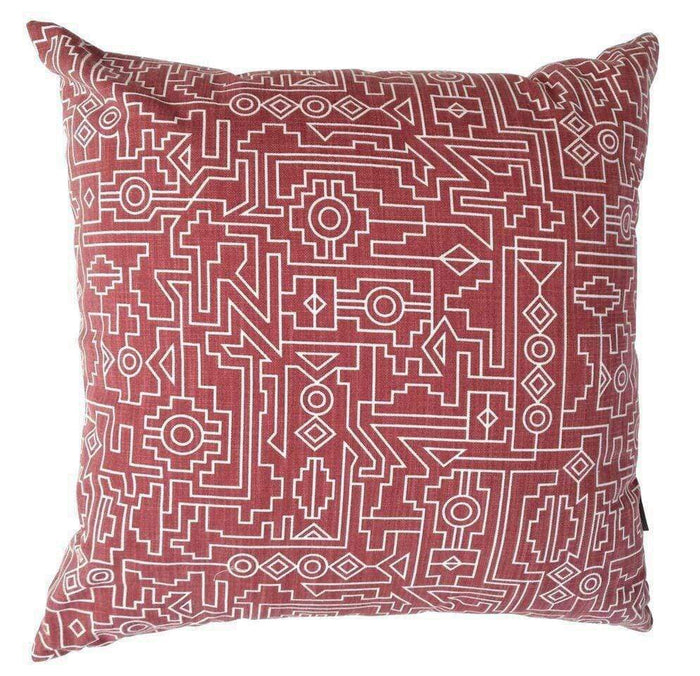 elevenpast Scatter Cushions Deep Red Ndemetric Scatter Cushion Cover