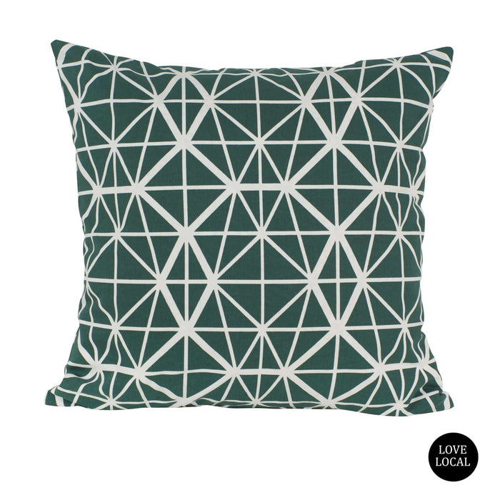 elevenpast Scatter Cushions Emerald Facet Scatter Cushion Cover