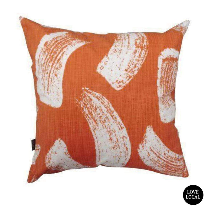 elevenpast Scatter Cushions Rust Brushstrokes Cushion Cover