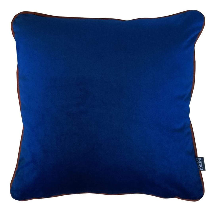elevenpast Scatter Cushions Velvet Scatter with Piping