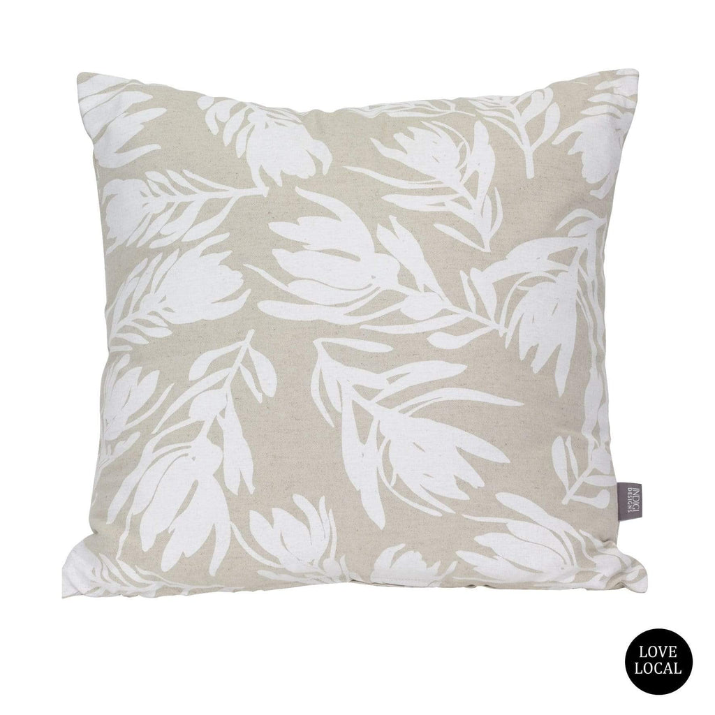 elevenpast Scatter Cushions White Conebush White Cushion Cover