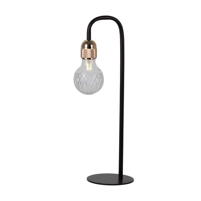 elevenpast Seville Black & Gold Table Lamp