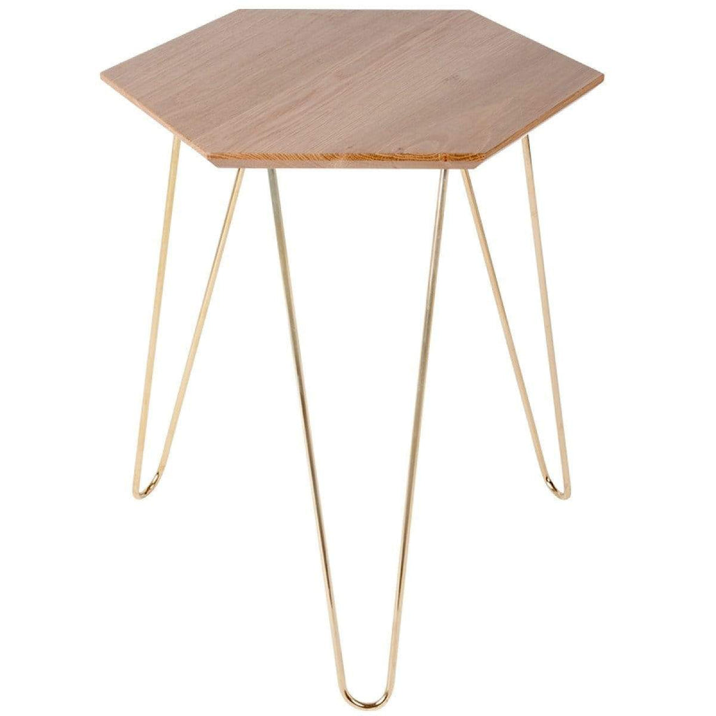 elevenpast Side tables Gold Studio Side Table