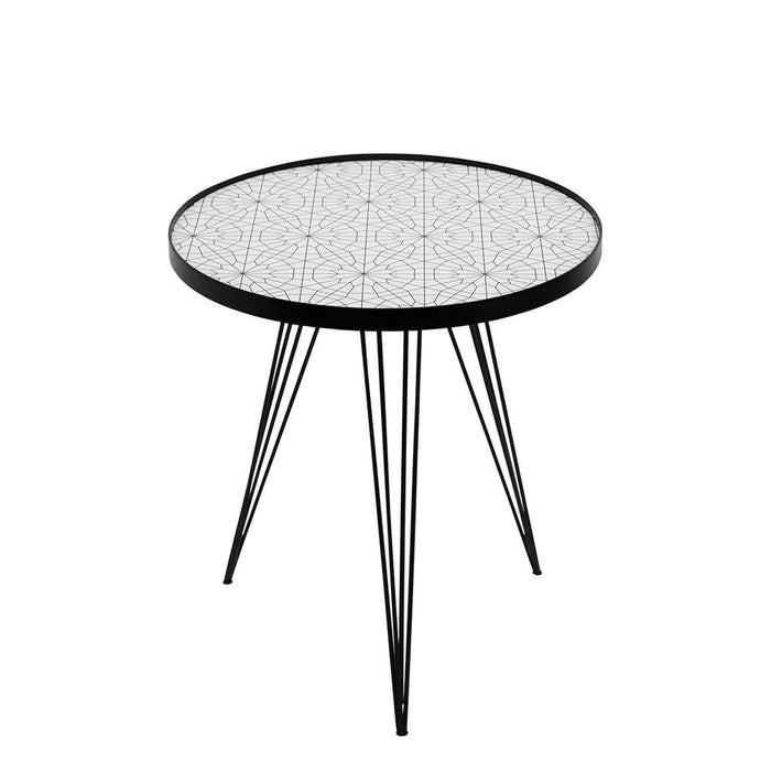 elevenpast Side tables Moroccan Pattern Side Table Medium
