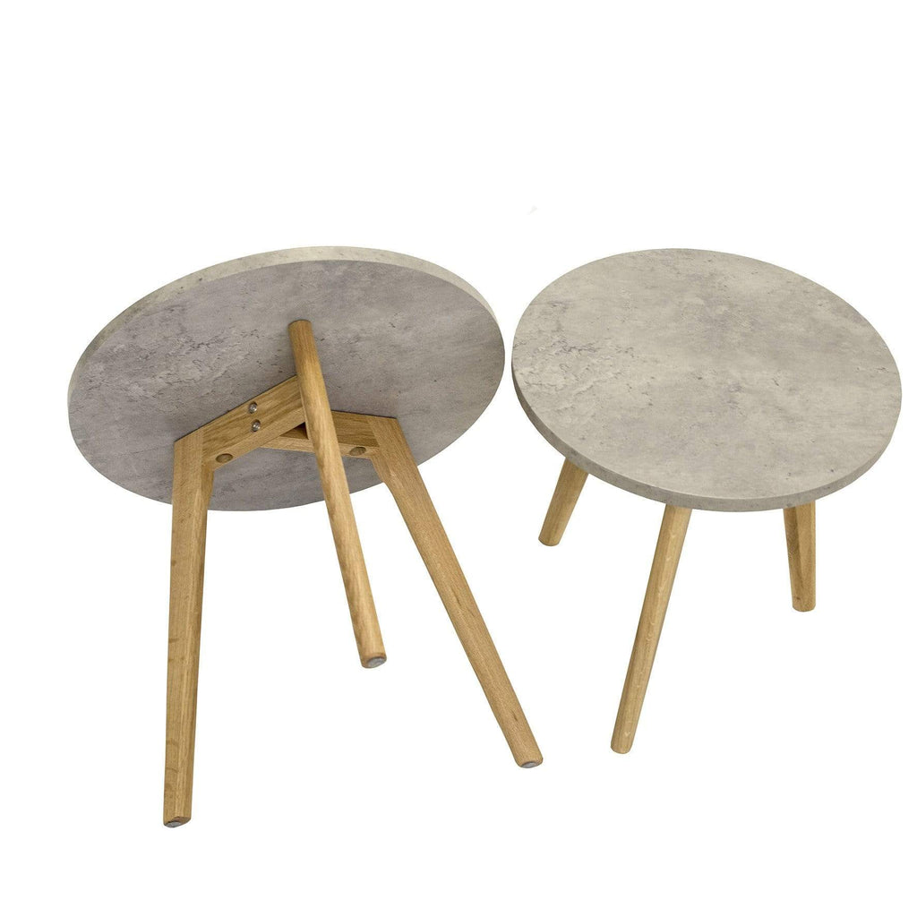 elevenpast Side tables Nesting Side Table Concrete