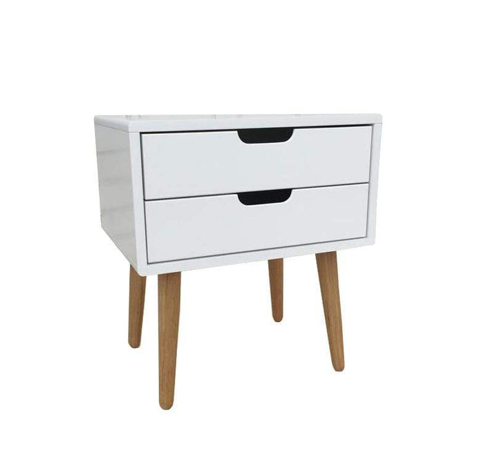 elevenpast Side tables Nord Bedside Table - 2 Drawer