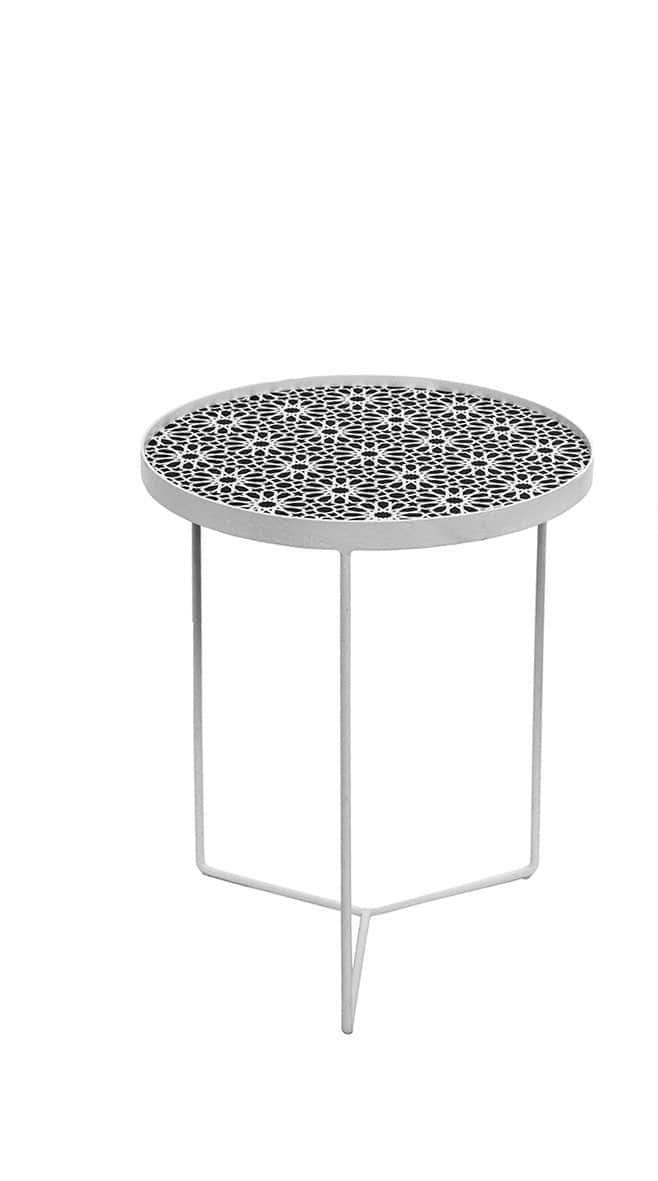 elevenpast Side tables Retro Side Table Set of 2
