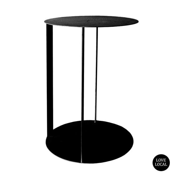 elevenpast Side tables Sandpaper Black Sofa Arm Side Table