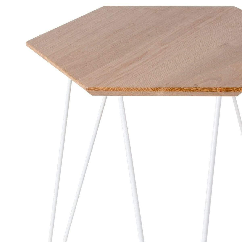 elevenpast Side tables White Studio Side Table