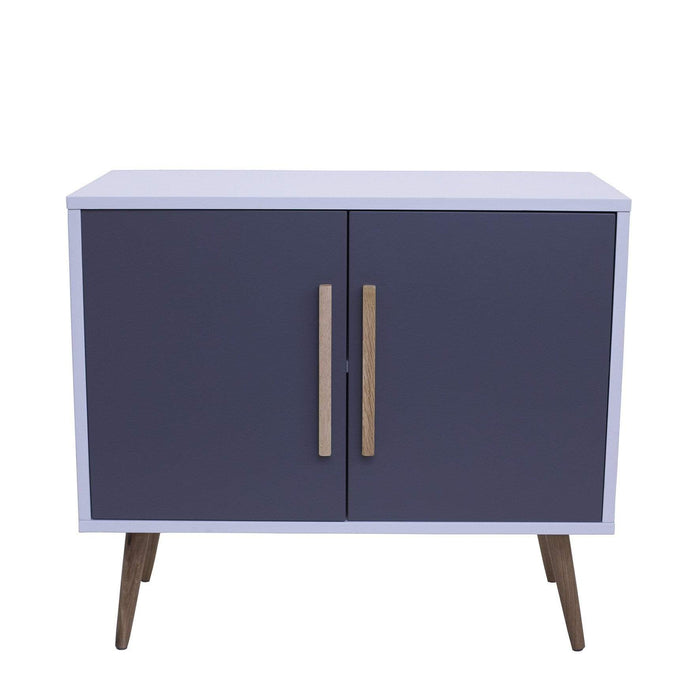 elevenpast Sideboard Cabinet 2 Door Grey